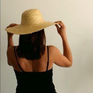 Handmade straw hat from the Bahamas